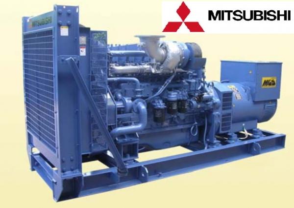 Máy phát điện Misubishi công suất 480KVA