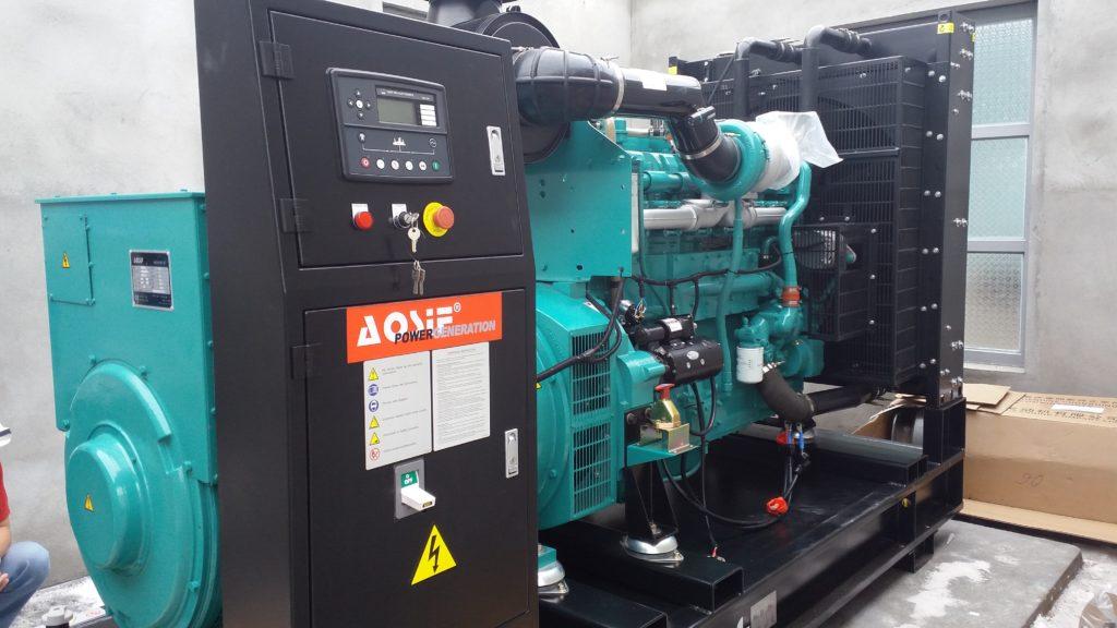 công trình lắp đặt máy phát điện công ty gạch primer