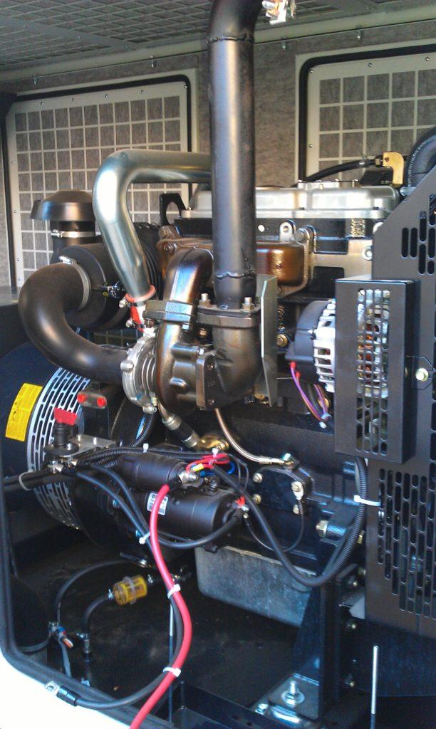 công trình lắp đặt máy phát điện Cục thuế Kon tum