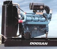 Máy phát điện Doosan DAT330 – 300Kva/330Kva
